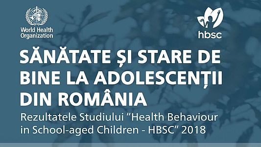 Studiu - Health Behaviour in School-aged Children - HBSC