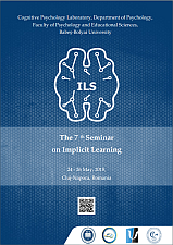 The 7th Seminar on Implicit Learning, 24 - 26 May 2018